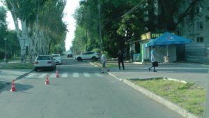 В Запорожье на пешеходном переходе сбили женщину: она скончалась в больнице - ФОТО