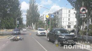 У Запорізькій області водій іномарки насмерть збив скутериста - ФОТО