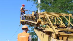 В Запорожье на Хортице установили новые энергосберегающие фонари за 230 тысяч гривен - ФОТО