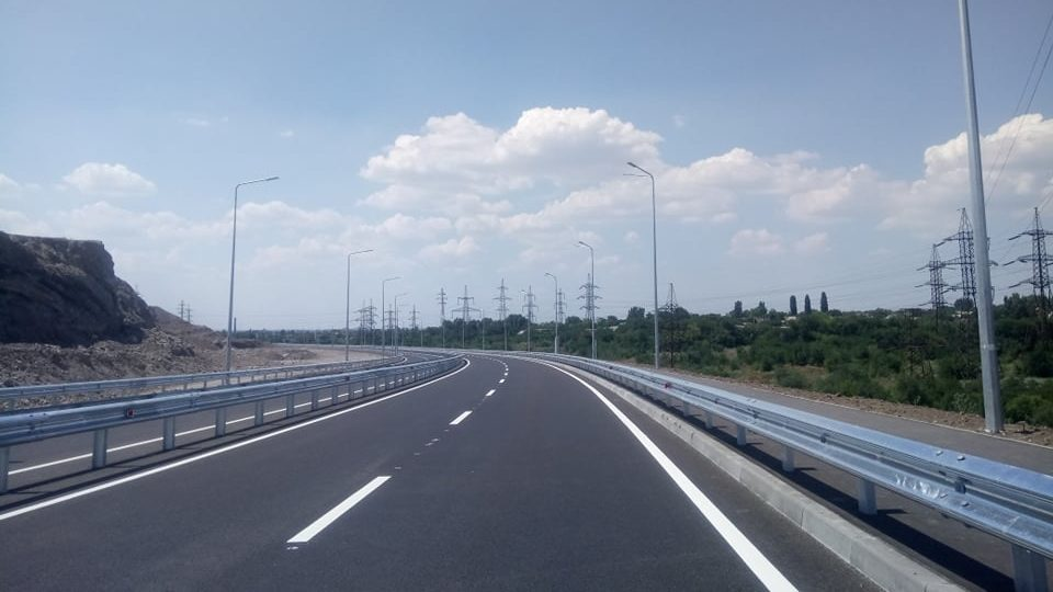 У Запоріжжі відкрили нову об'їзну дорогу на Північному шосе - ФОТО, ВІДЕО