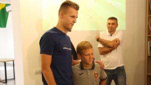 У Запоріжжі нагородили медаллю чемпіона світу з футболу - ФОТО