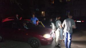 У Запорізькій області невідомі заблокували автомобіль депутата-АТОвця - ФОТО