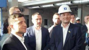 Зеленський відвідав будівництво нового терміналу в запорізькому аеропорту