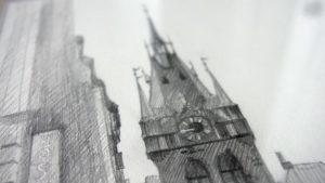 У Запоріжжі відкрили унікальну виставку графічних картин про Прагу