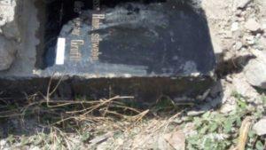 В Запорожье на Хортице нашли меннонитские надгробия, которые пытались скрыть в фундаменте - ФОТО