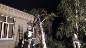У Запорізькій області через негоду зруйнувалися житлові будинки, школа і лінії електропередач - ФОТО