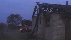 У Запорізькій області сталася пожежа в житловому будинку