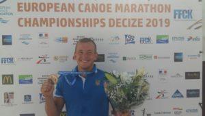 Запорожский спортсмен стал чемпионом Европы по гребному марафону