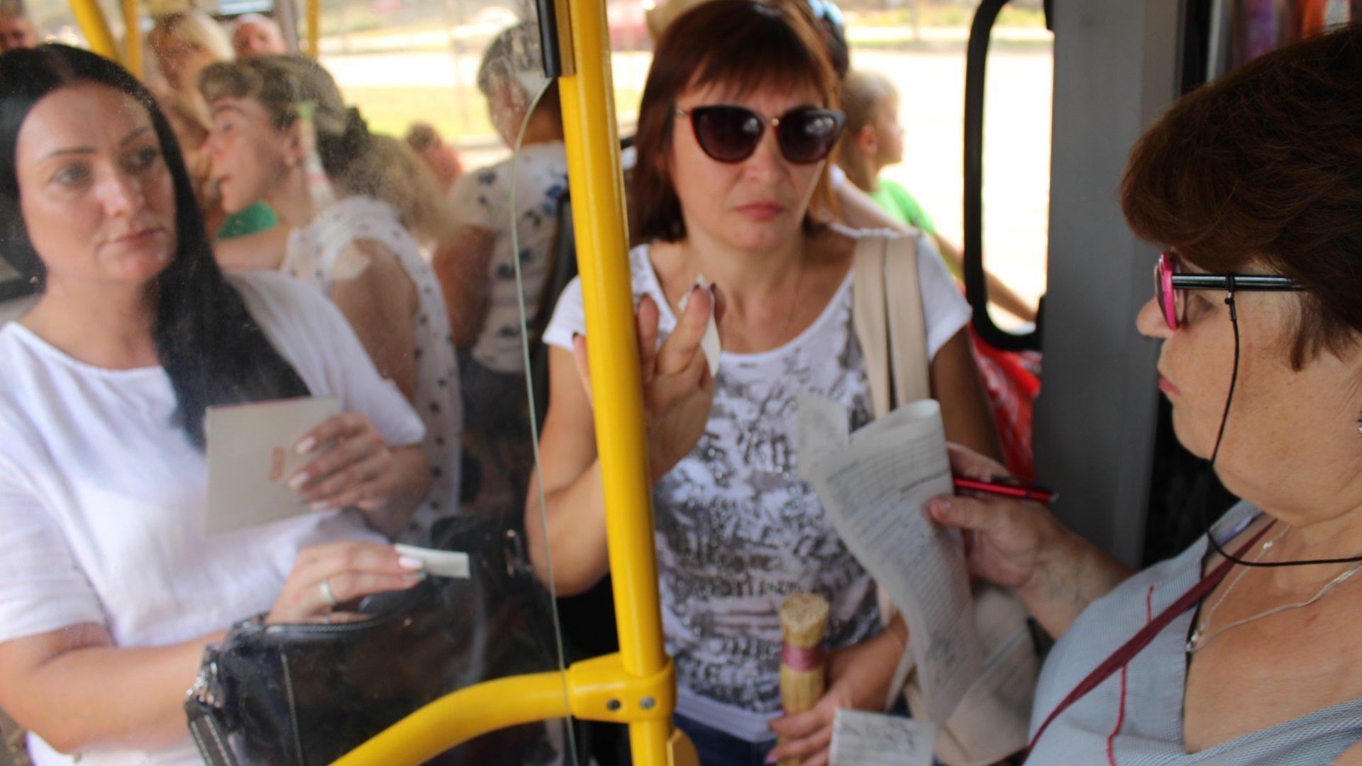 В Запорожье транспортные чиновники просят горожан «сдавать» пассажиров, которые едут «зайцем» в общественном транспорте