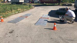 У Запорізькій області розпочали роботу пересувні пункти габаритно-вагового контролю - ФОТО, ВІДЕО
