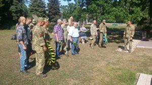 У Запоріжжі вшанували пам'ять загиблих героїв 55-й артбригади - ФОТО