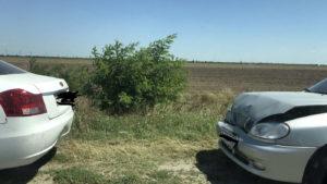 В Кирилловке на трассе произошло ДТП и образовалась пробка