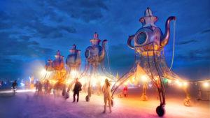 Жители Запорожья могут принять участие в фестивале «Burning Man»