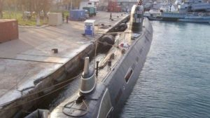 Росія готує до утилізації захоплений український підводний човен «Запоріжжя»