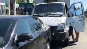 В Запорожской области произошло ДТП: грузовик протаранил легковушку