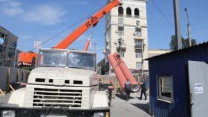 Ремонт ливневой канализации на проспекте Металлургов планируют завершить в октябре