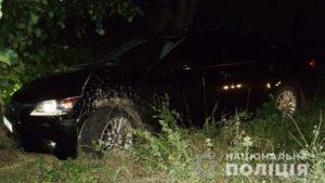В Запорожской области мужчина, который украл машину, попал на ней в ДТП