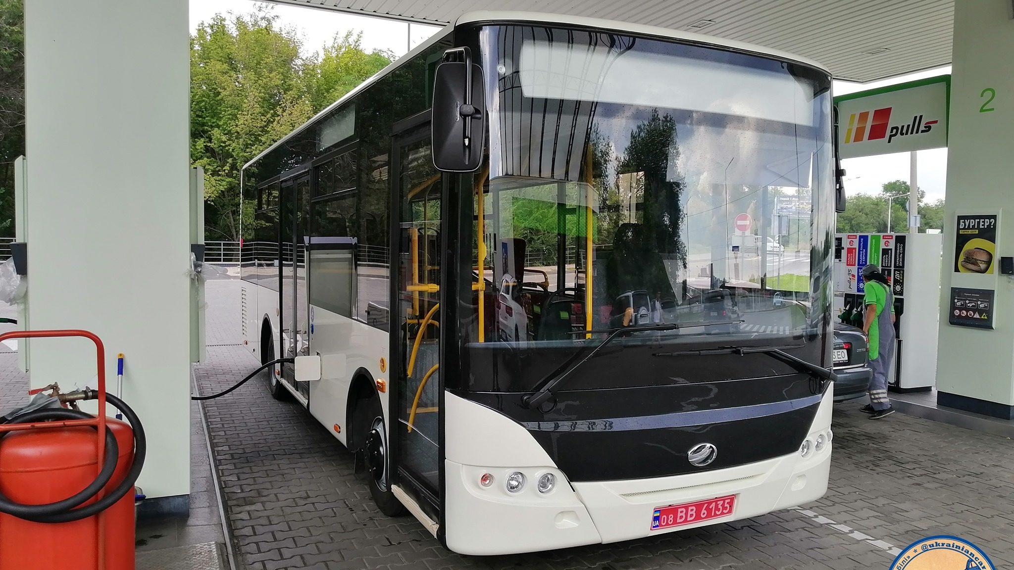 Как выглядит запорожский автобус, который собирают для Польши (ФОТО)