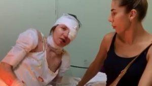 Мати чоловіка, який облив дівчину окропом, погрожувала постраждалій у лікарні