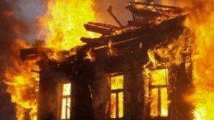 В Запоріжжі у власному будинку через пожежу загинув чоловік