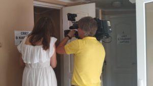 Кафе на запорожском курорте посетил телевизионный ревизор