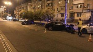 В Запорожье произошло ДТП, в котором погиб человек