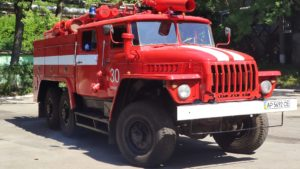 Працівники одного з запорізьких підприємств відремонтували пожежний автомобіль, який було законсервовано понад 10 років