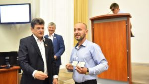 В Запорожском городском совете – новый депутат
