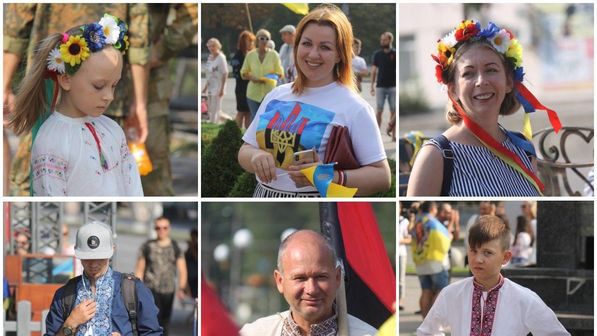 В вышиванке и с флагом: 50 портретов патриотичных запорожцев ко Дню независимости, – ФОТОРЕПОРТАЖ