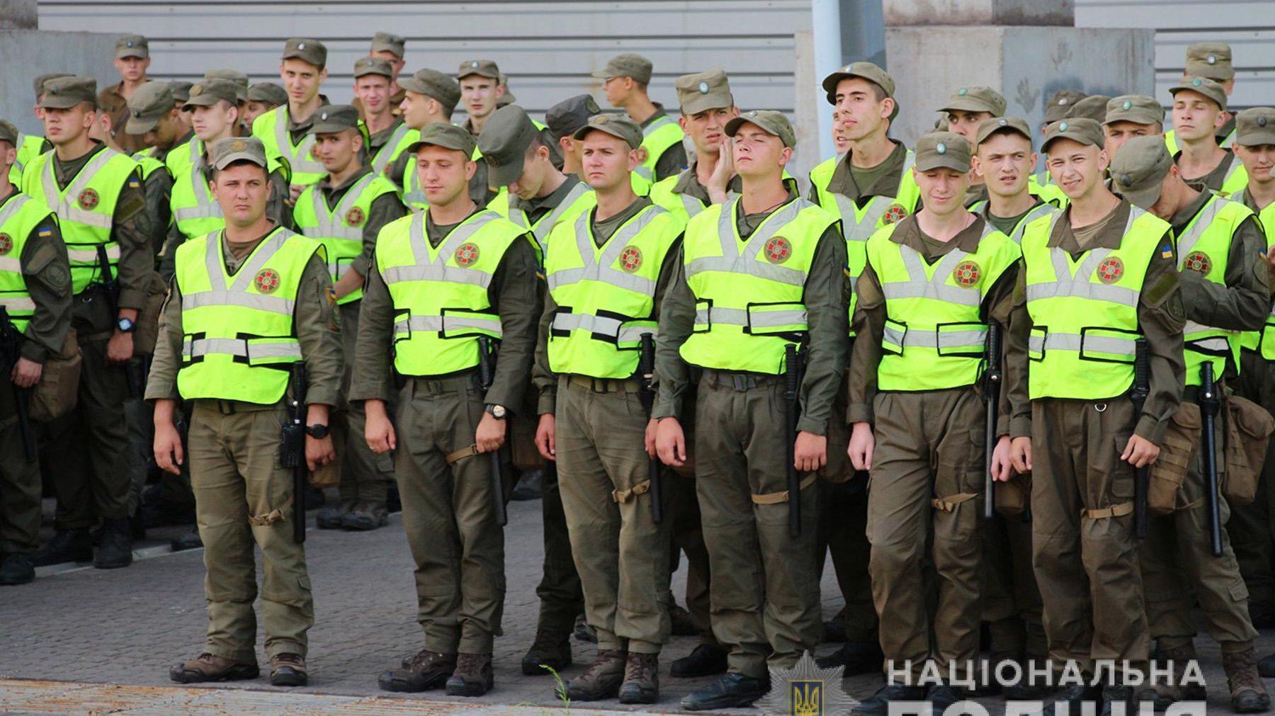 У Запоріжжі і області нацгвардійці тепер будуть окремо від поліції охороняти громадський порядок на вулиці