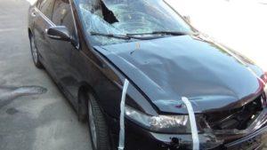 На курорті Запорізької області водій збив 19-річного хлопця і зник з місця аварії