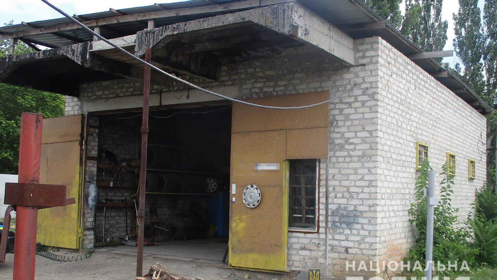 У Запорізькій області зловмисник пробрався в гараж і обікрав місцевого жителя - ФОТО