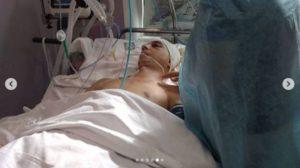 Запорожский волонтер рассказал о состоянии здоровья АТОшника, который вступился за кассира, - ВИДЕО