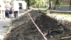 В Бердянську через протест місцевих мешканців призупинили будівництво супермаркету