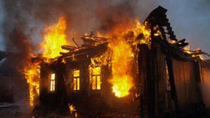Под Запорожьем в собственном доме сгорел мужчина