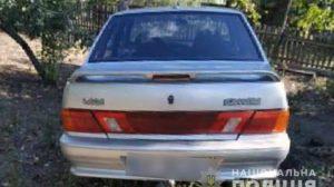 П'яна викрадачка авто потрапила в аварію під Запоріжжям