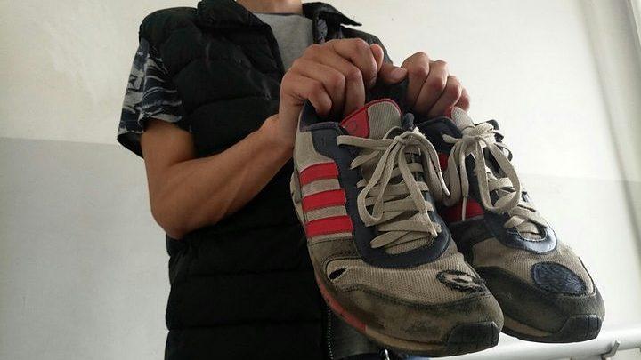 Житель Запоріжжя вкрав кросівки в