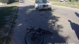 Під Запоріжжям жінка збила велосипедиста: 12-річний підліток у лікарні