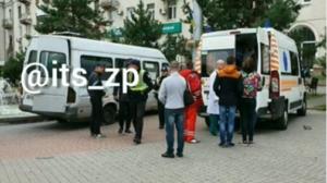 У соціальній мережі опублікували відео ДТП за участю маршрутки в Запоріжжі, – ВІДЕО