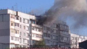У Запоріжжі горіла квартира на Бабурці: пожежу гасили 17 рятувальників, – ФОТО