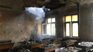 У Запоріжжі сталася пожежа в будівлі університету, – ФОТО