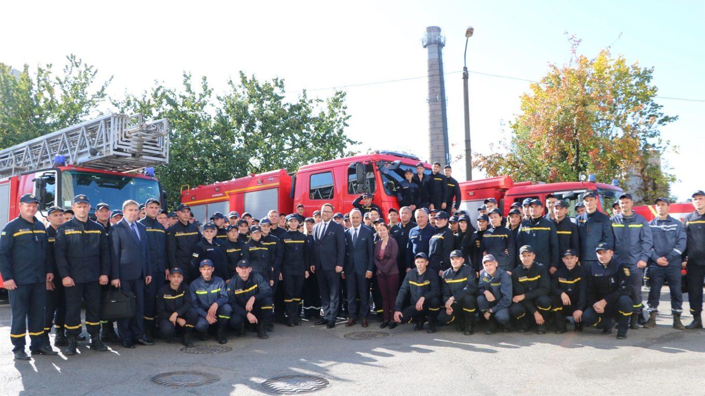 Пожарные-добровольцы Гуляйпольской ОТГ получили польское защитное снаряжение