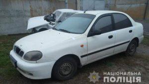 В Запорожской области мужчина взял автомобиль начальника и сел за руль пьяным
