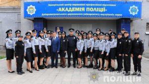 В Запоріжжі склали присягу майже 60 поліцейських