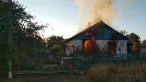 В Приморську у вогні загинуло дві людини, — ФОТО