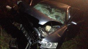 В Запорізькій області внаслідок ДТП загинула людина, ще двоє - травмовано, — ФОТО