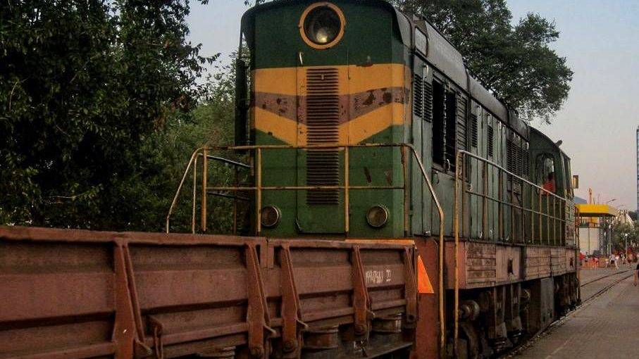 В Бердянске мужчина попал под поезд и обматерил медиков