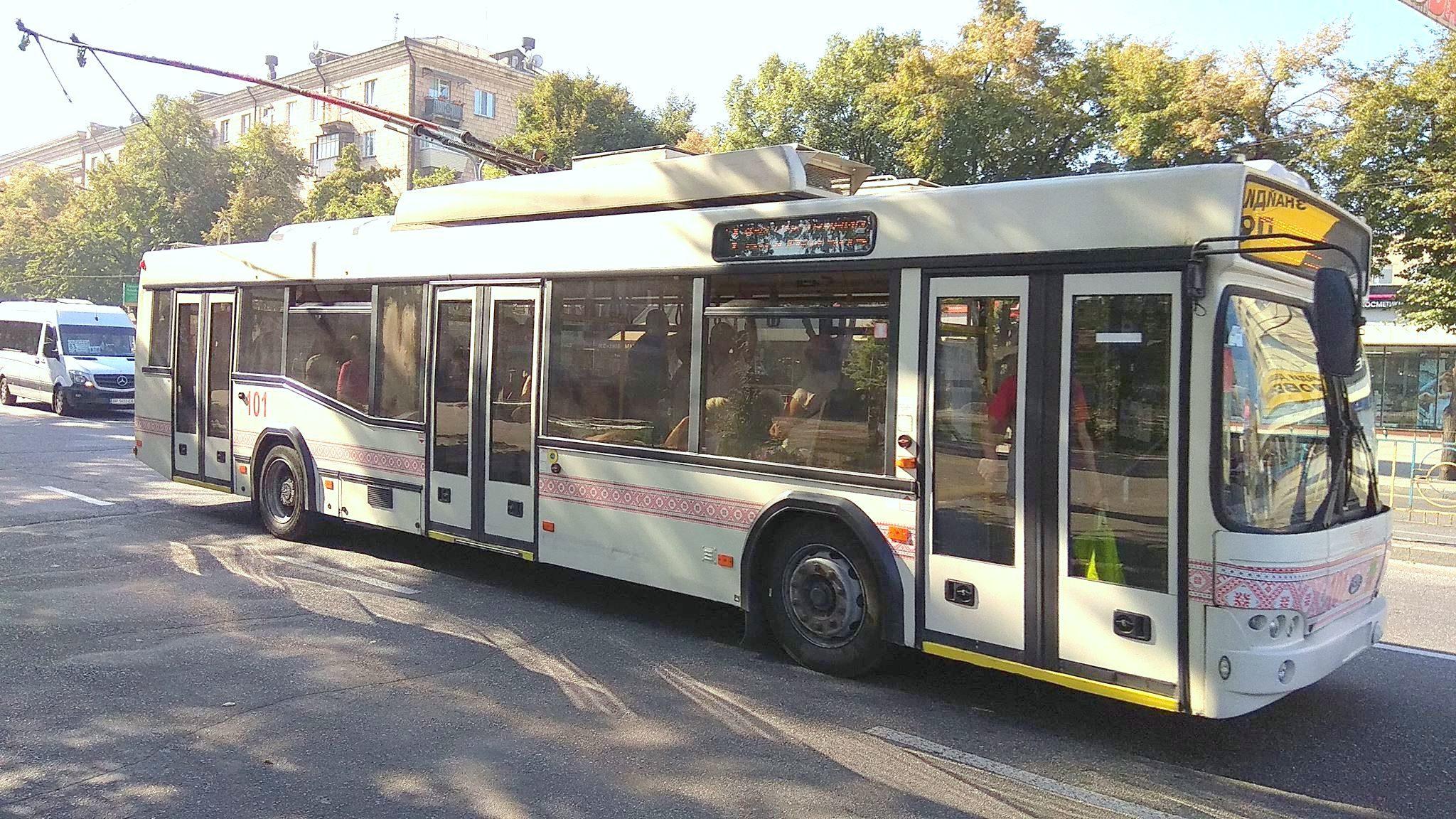 В Запорожье восстановили движение двух троллейбусных маршрутов — №9 и 13