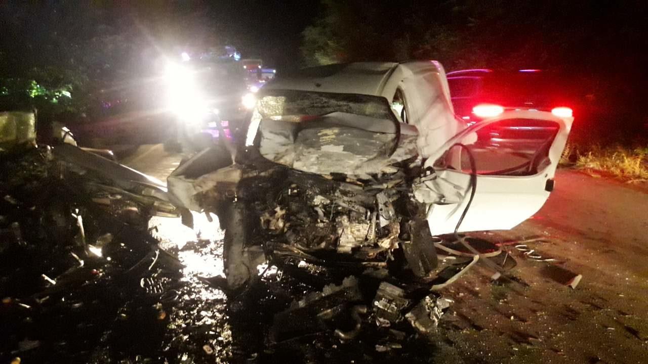 На запорожской трассе произошло смертельное лобовое столкновение: погибли оба водителя, – ФОТО