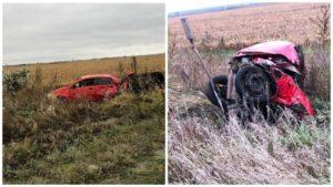 В Запорізькій області п'яний водій влаштував лобове зіткнення: загинула його дитина, — ФОТО